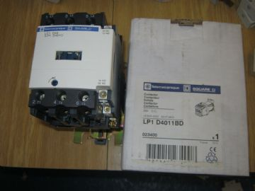 TELEMECHANIQUE/ SQUARE D LP1 D4011BD/ LC1D4011 CONTACTOR.18.5KW 400V 30HP 460V